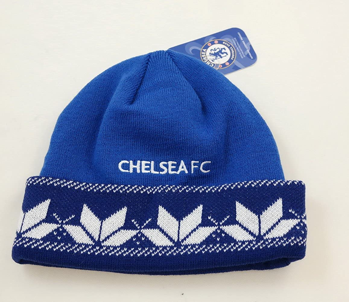 RHINOXGROUP Chelsea F.C Authentic Official Licensed Soccer Beanie