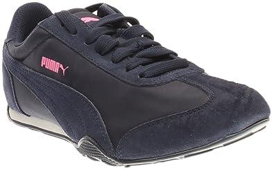 PUMA Women s 76 Runner Fun Wn Walking Shoe Peacoat 9 ... 4d45fa099