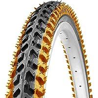 Ralson 26 X 1.95 inch Nylon Storm Orange/Red/Blue/Yellow/Green MTB Cycle Tyre Good Grip
