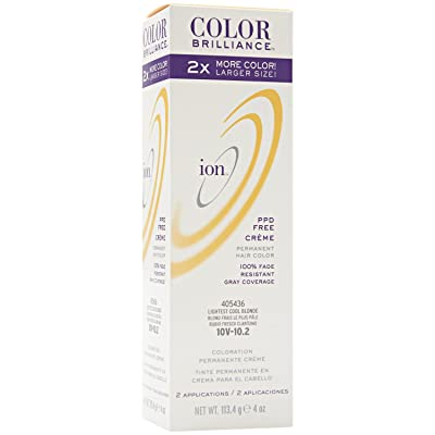 10V Lightest Cool Blonde Permanent Creme Hair Color