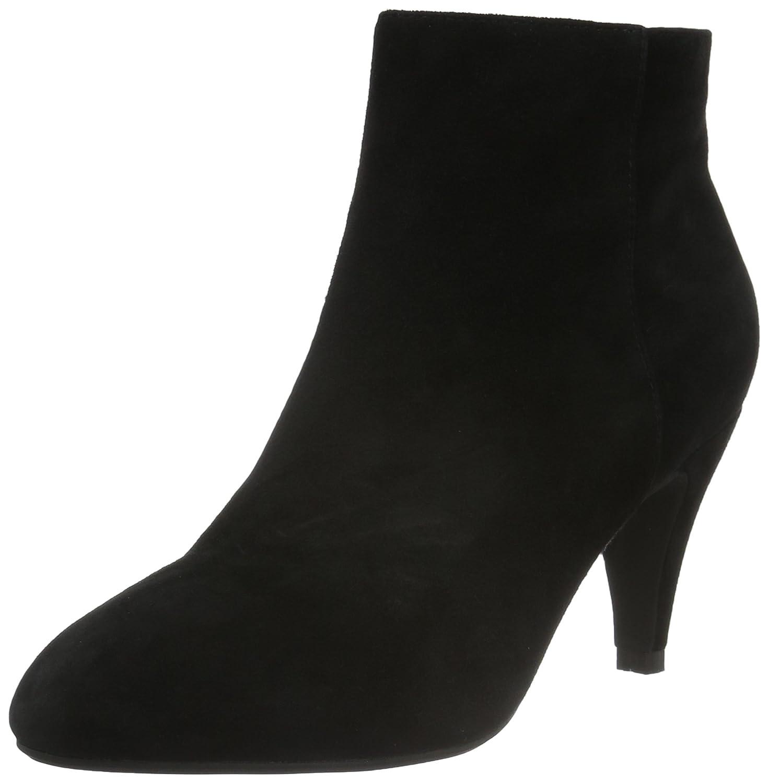 Leather Boot, Bottes Classiques Femme - Noir (Black), 36 EUSofie Schnoor