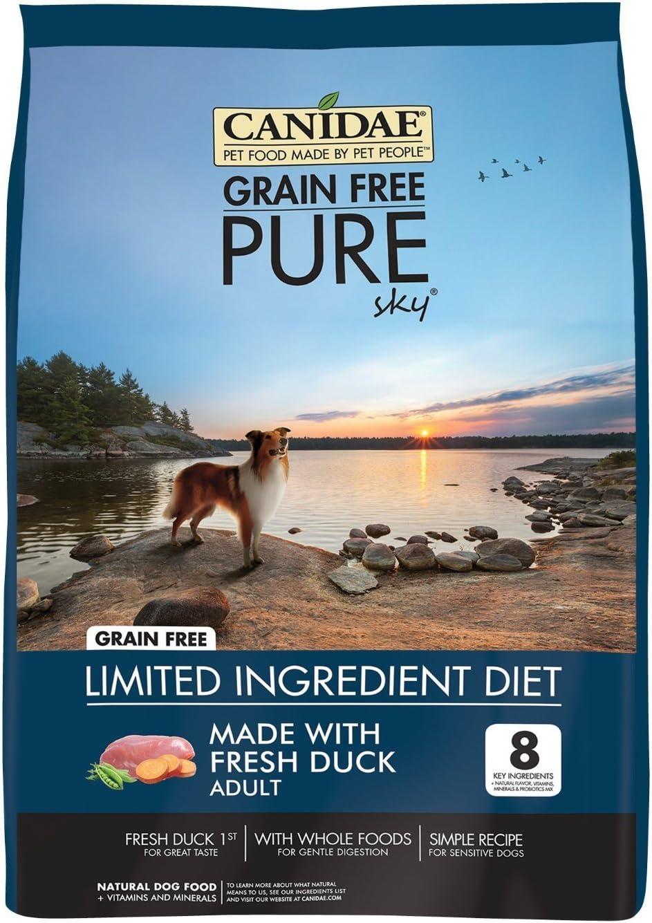 CANIDAE Grain Free Pure Sky Adult Dog Food, 4 lbs.