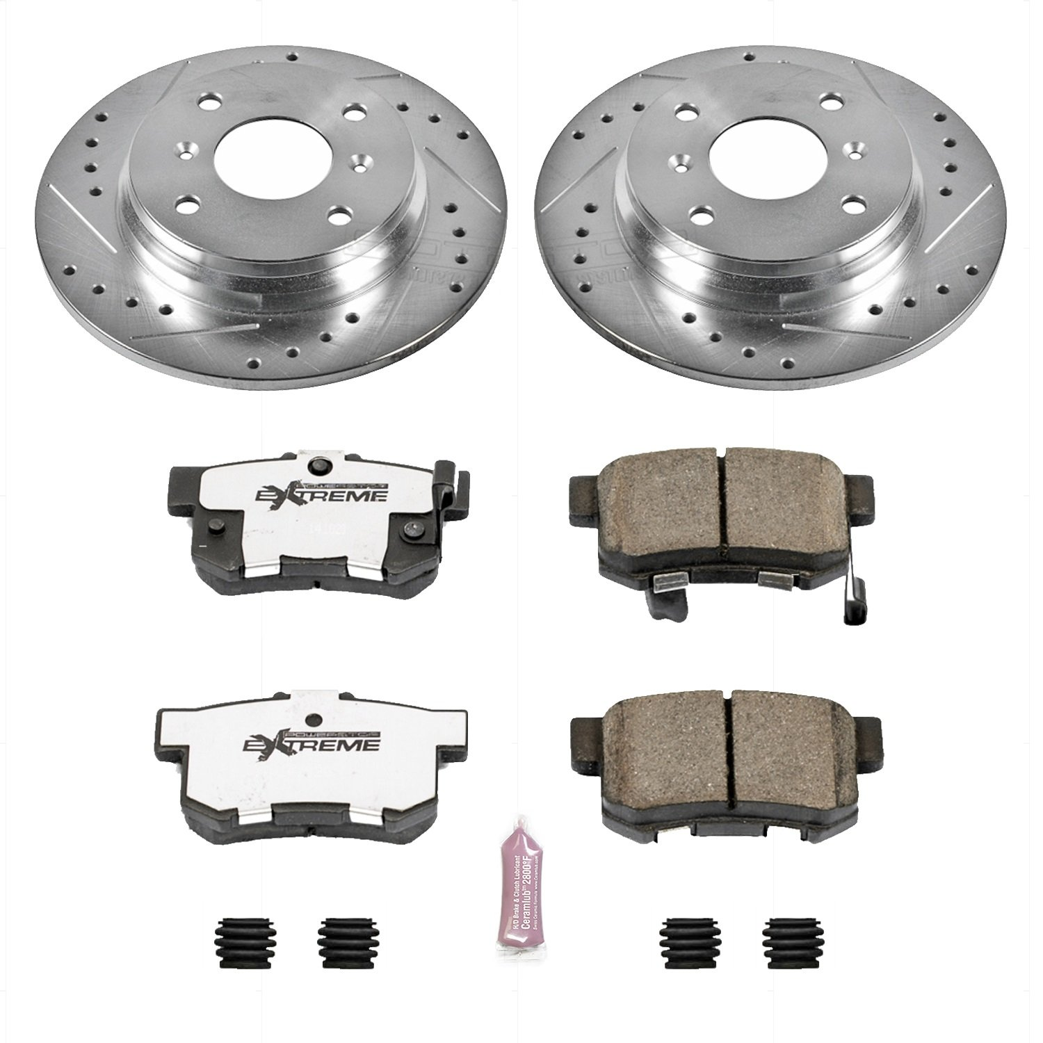 Power Stop K4056 1-Click Brake Kit