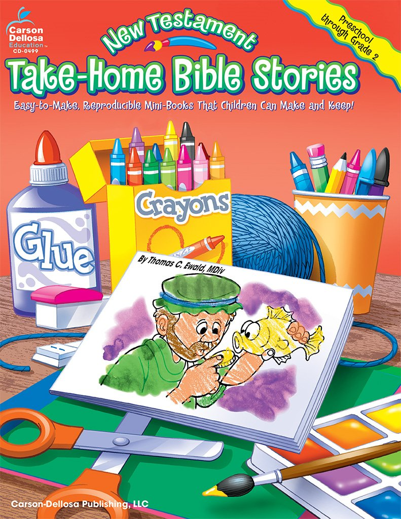 new testament take home bible stories grades preschool 2 easy