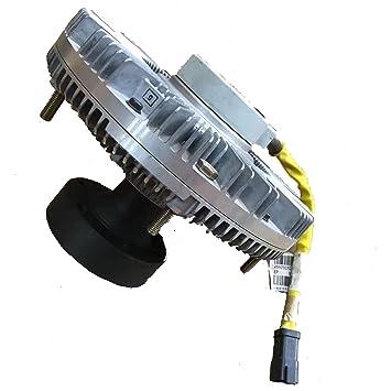 Holdwell Ventilador Unidad líquido embrague 281 - 3589 2813588 para Cat C7 Motor e325d excavadora: Amazon.es: Coche y moto