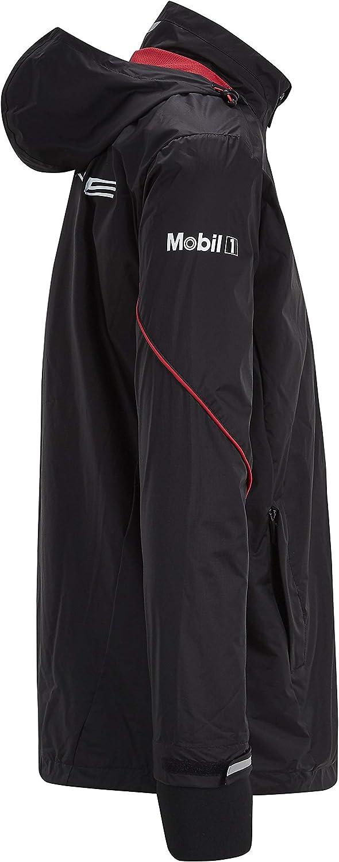 Porsche Motorsport Team Black Rain Jacket w//Motorsport Kit