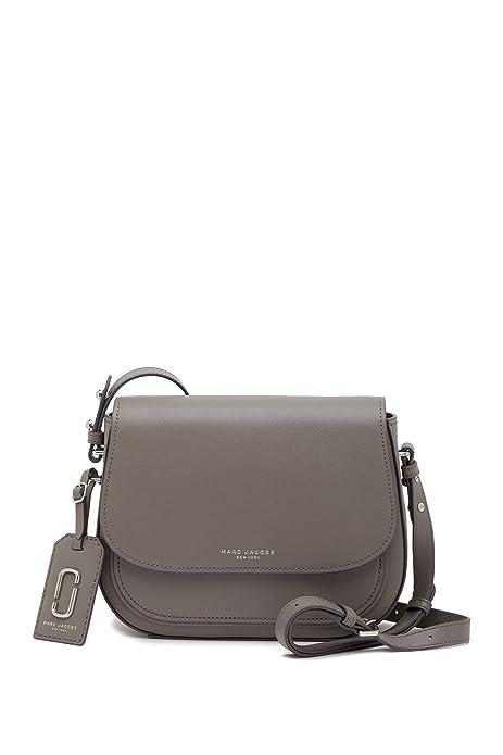 c8ff5fb43f1 Marc Jacobs Rider Leather Crossbody (Grey): Amazon.ca: Shoes & Handbags