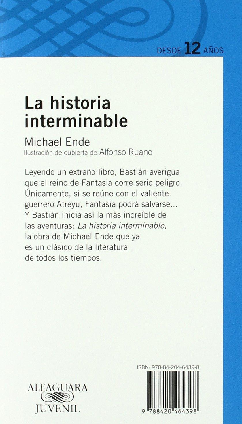 LA HISTORIA INTERMINABLE Proxima Parada 12 Años: Amazon.de: Michael Ende,  Miguel Sáenz: Fremdsprachige Bücher