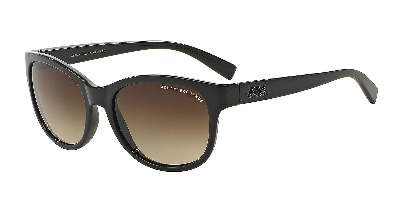 8992ca5023de4 chic Exchange Armani 0AX4044S Sun Full Rim Oval Womens Sunglasses ...