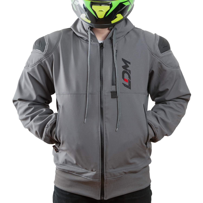 XL LDM ExoFlex Waterproof Motorcycle Jacket Kevlar Hoodie w//CE Approved Armour DuPontTM Kevlar/® lined Winter Jacket