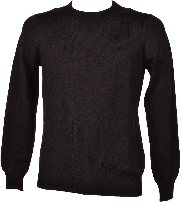 TAGLIATORE Luxury Fashion Mens MARLEY567GSI1702099 Black Sweater Season Outlet