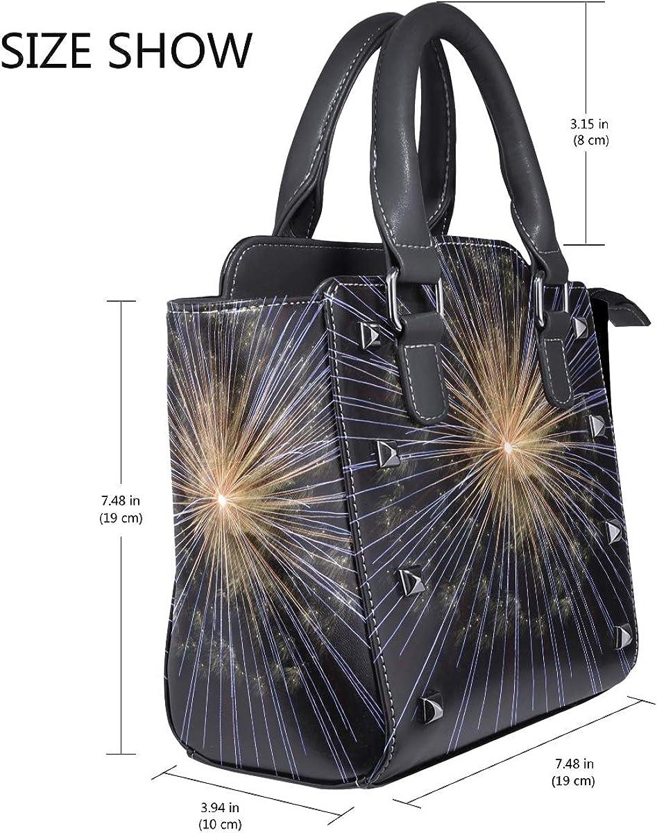 DEZIRO Blue Yellow Beautiful Fireworks evening handbags and clutches for women