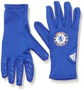adidas FC Field Player Gloves - Chelsea Blue/White, Large