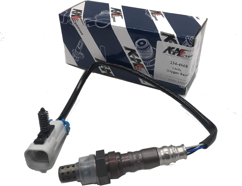 kmsensor 234-4668 O2 Oxygen Sensor Lambda Sensor 12590790 15152,213-2827 for Buick Cadillac Isuzu Pontiac Saturn Chevy GMC Sierra Silverado 1500 2500 3500