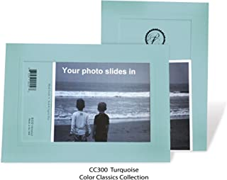 "product image for Photo Note Cards for 4"" x 6"" image 10 Pack with Envelopes ColorClassics (Turquoise)"