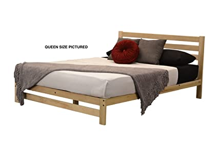 Amazon.com: KD Frames Roanoke Platfrom Bed (XL-Twin): Kitchen & Dining