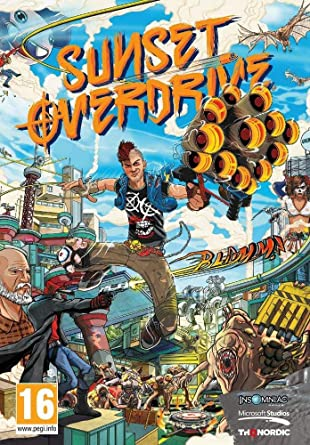 Amazon Com Sunset Overdrive Pc Video Games