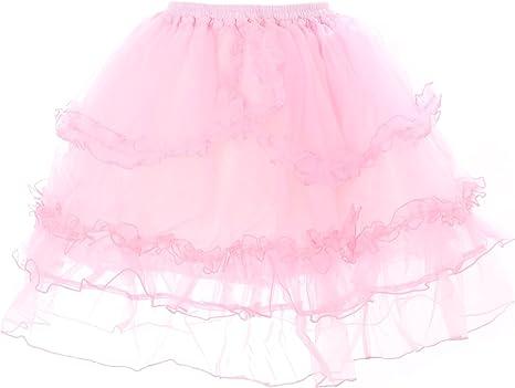 Kawaii-Story - Falda - enaguas - para mujer Rosa Small: Amazon.es ...
