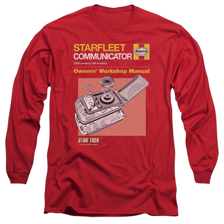 Star Trek - Mens Comm Manual Long Sleeve T-Shirt