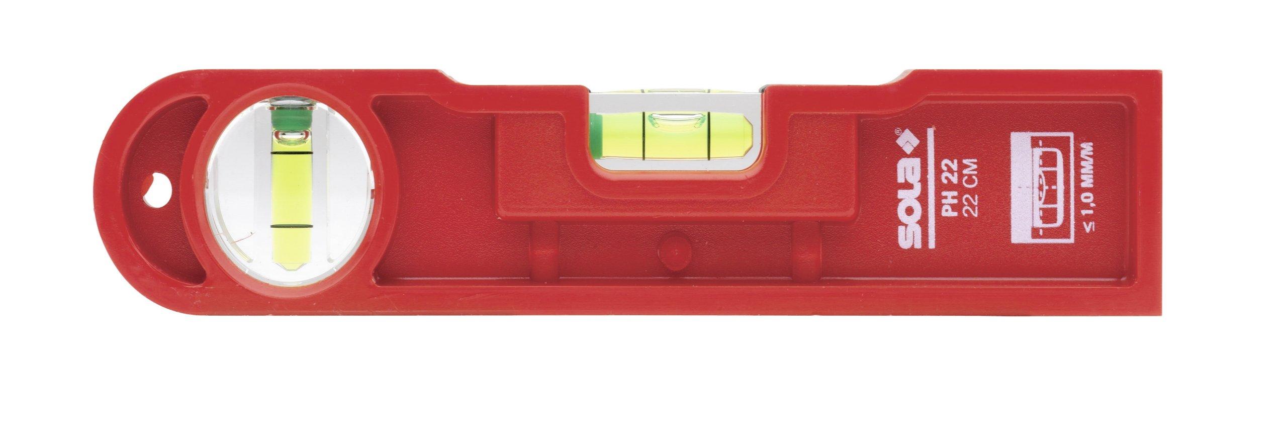 Sola Plastic Cast Torpedo Flooring Level - PH 22