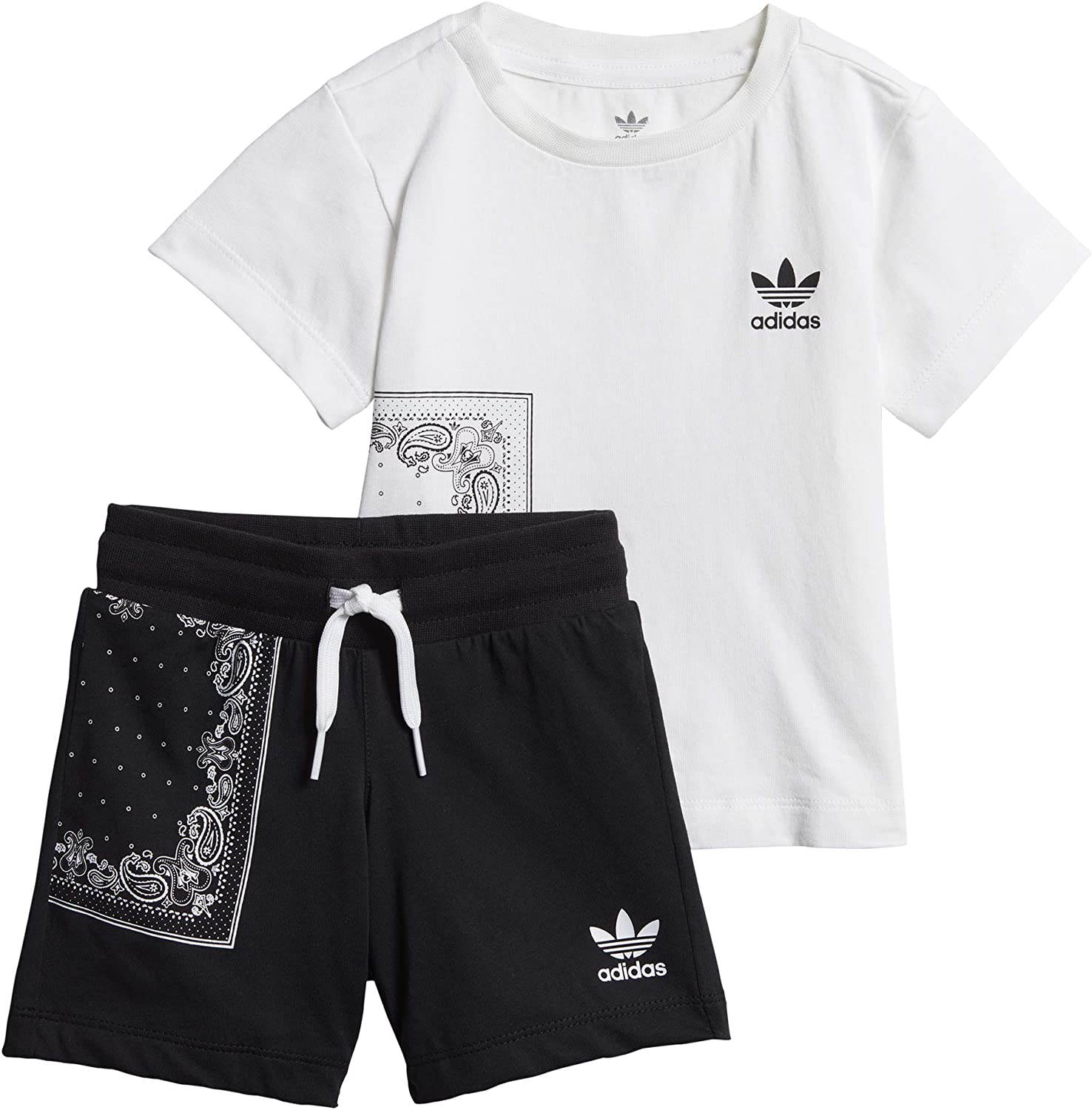Survêtement Baby Adidas Bandana (t Shirt + Short):