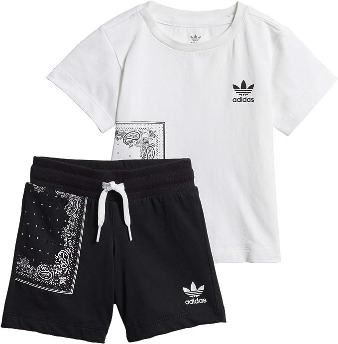 Survêtement Baby Adidas Bandana (t Shirt + Short):