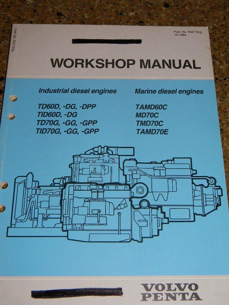 volvo penta boat engine diagram volvo penta workshop manual for industrial diesel engines td60d  volvo penta workshop manual for