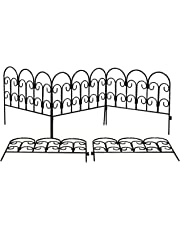 Set of 5 x Steel Path and Border Edging (45cm x 41cm panels)