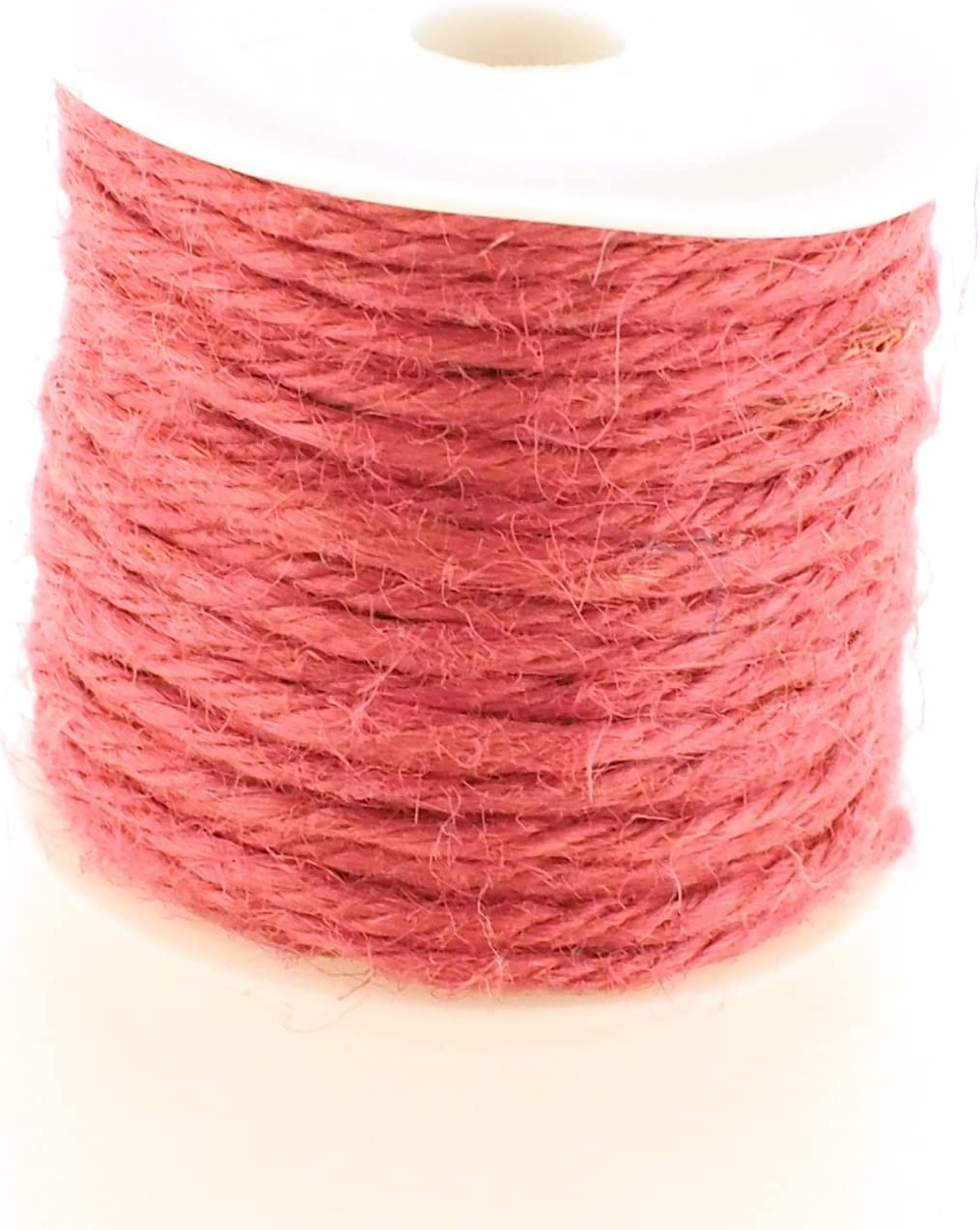 Trimweaver 2mm Jute Twine 20-Yard Hot Pink