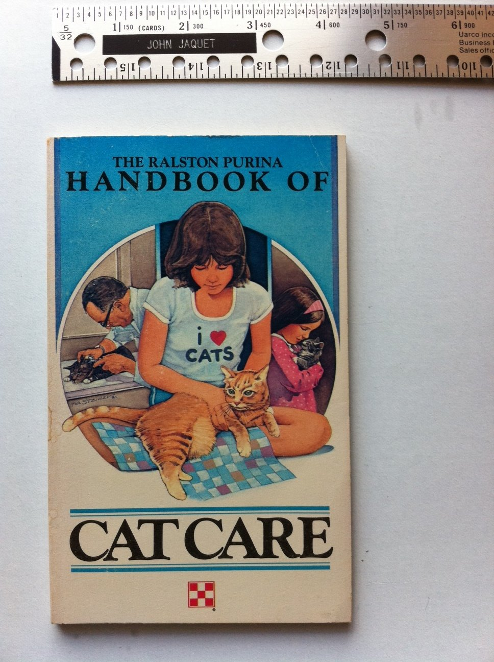 The Ralston Purina Handbook of Cat Care