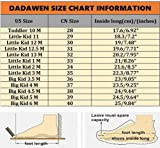 DADAWEN Kids Breathable Casual Outdoor Strap