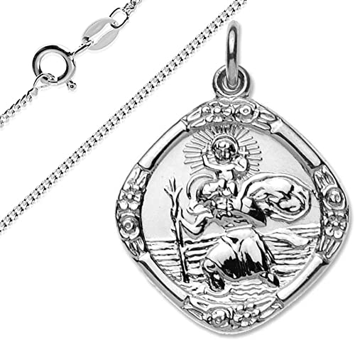 Christopher Pendant Sterling Silver St TONYS JEWELRY CO