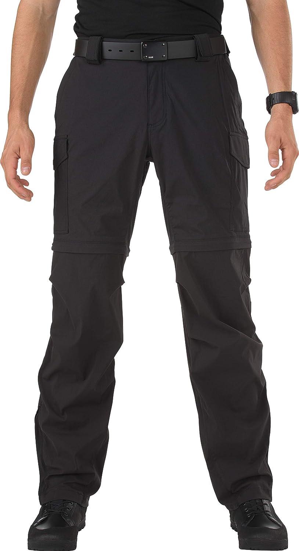 Image of 5.11 Tactical Men's Bike Patrol Zip-Off Pants, Quick-Drying, Adjustable Belt Loops, Style 45502 Casual