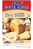 White Horse Dry Yeast, 20 g Set of 5 = 100 g, Premium Quality