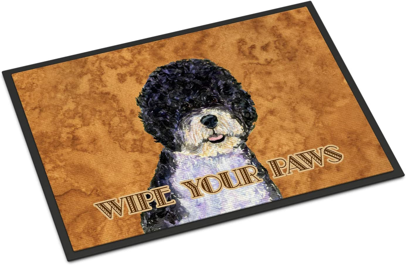Caroline s Treasures SS4894JMAT Portuguese Water Dog Wipe Your Paws Indoor or Outdoor Mat 24×36, 24H X 36W, Multicolor