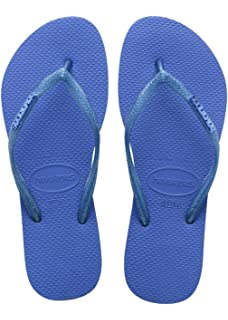 Indigo Blau Slim Hardwear größe EU37/38 zehentrenners Havaianas gslhF8n