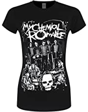 My Chemical Romance Women's Dead Parade T-Shirt Black