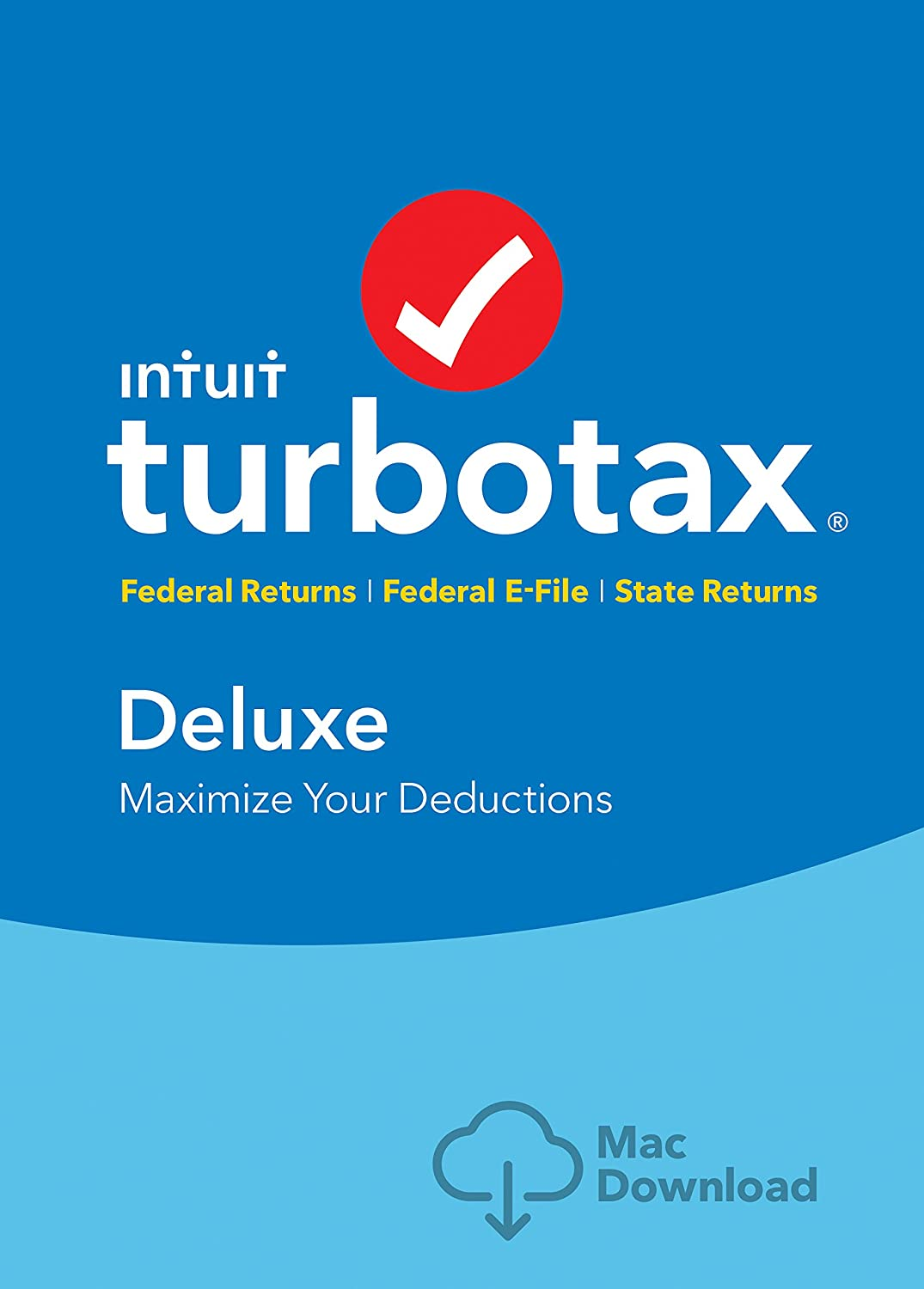 Amazon Com Turbotax Deluxe 2016 Tax Software Federal State