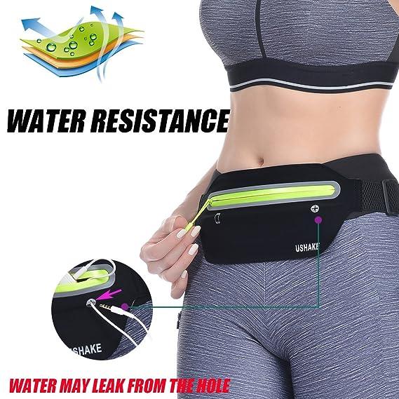 Amazon.com: UShake Slim Running Belt, Ultra Light Bounce ...