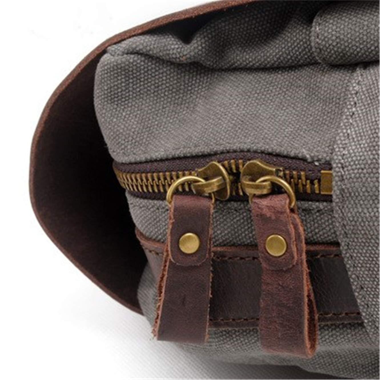 Mens Vintage Canvas Backpack