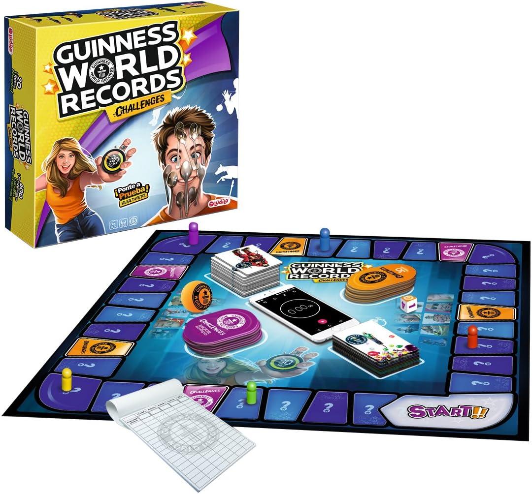 Lúdilo Guinness World Records Challenges (80351): Amazon.es: Juguetes y juegos