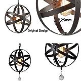 Truelite Industrial Metal Spherical Pendant