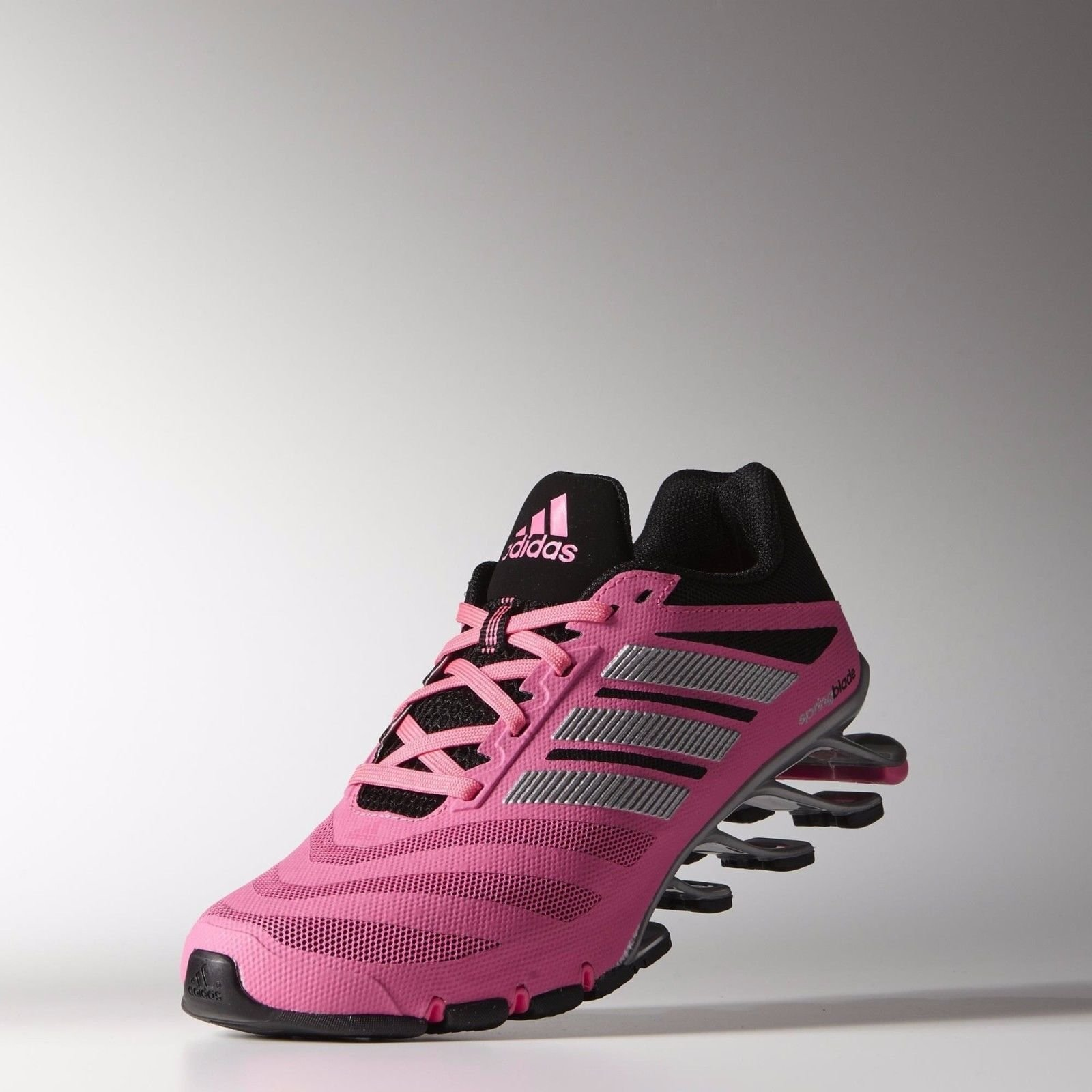 promo code d1cb4 8c808 Galleon - Adidas Springblade Ignite AdiWear M19797 Pink Silver Black  Women s Running Shoes (size 7.5)
