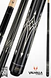 Viking Valhalla by 2 Piece Pool Cue Stick Black and White Tribal Design Billiards Cue