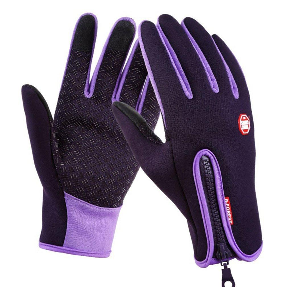 shuohu冬防風サイクリング手袋、アウトドアスポーツBiking釣りスキー画面タッチ手袋 – 4サイズ   B0799DBXG7