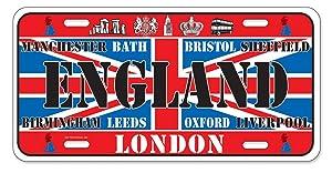 Dimension 9 Home Decorative Plates, England