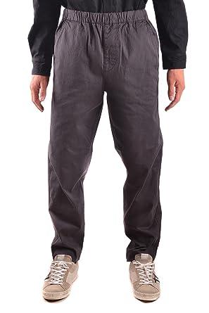 weltweit verkauft Online-Verkauf 100% Zufriedenheitsgarantie Stone Island Herren Mcbi284122o Grau Baumwolle Hose: Amazon ...