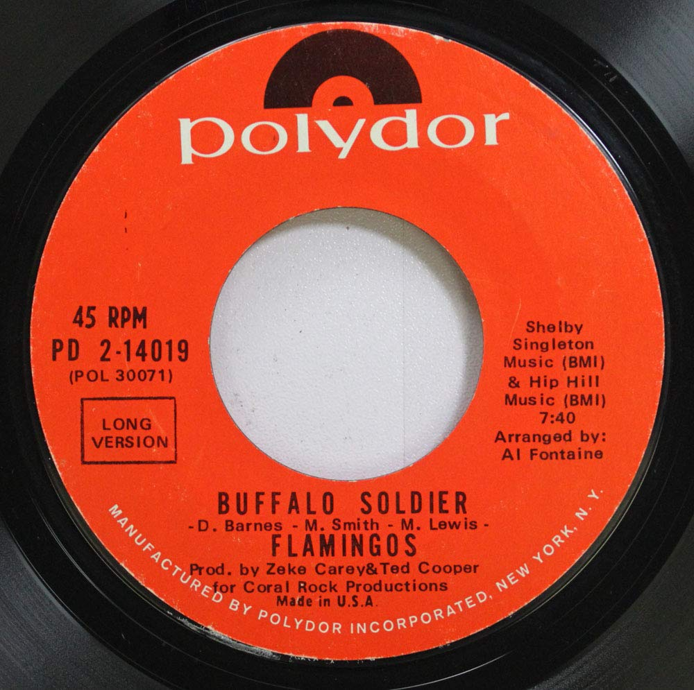 Image result for buffalo soldier the flamingos single images