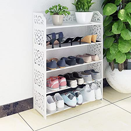 Rfjjal Range Chaussures Porte Chaussures De Rangement En