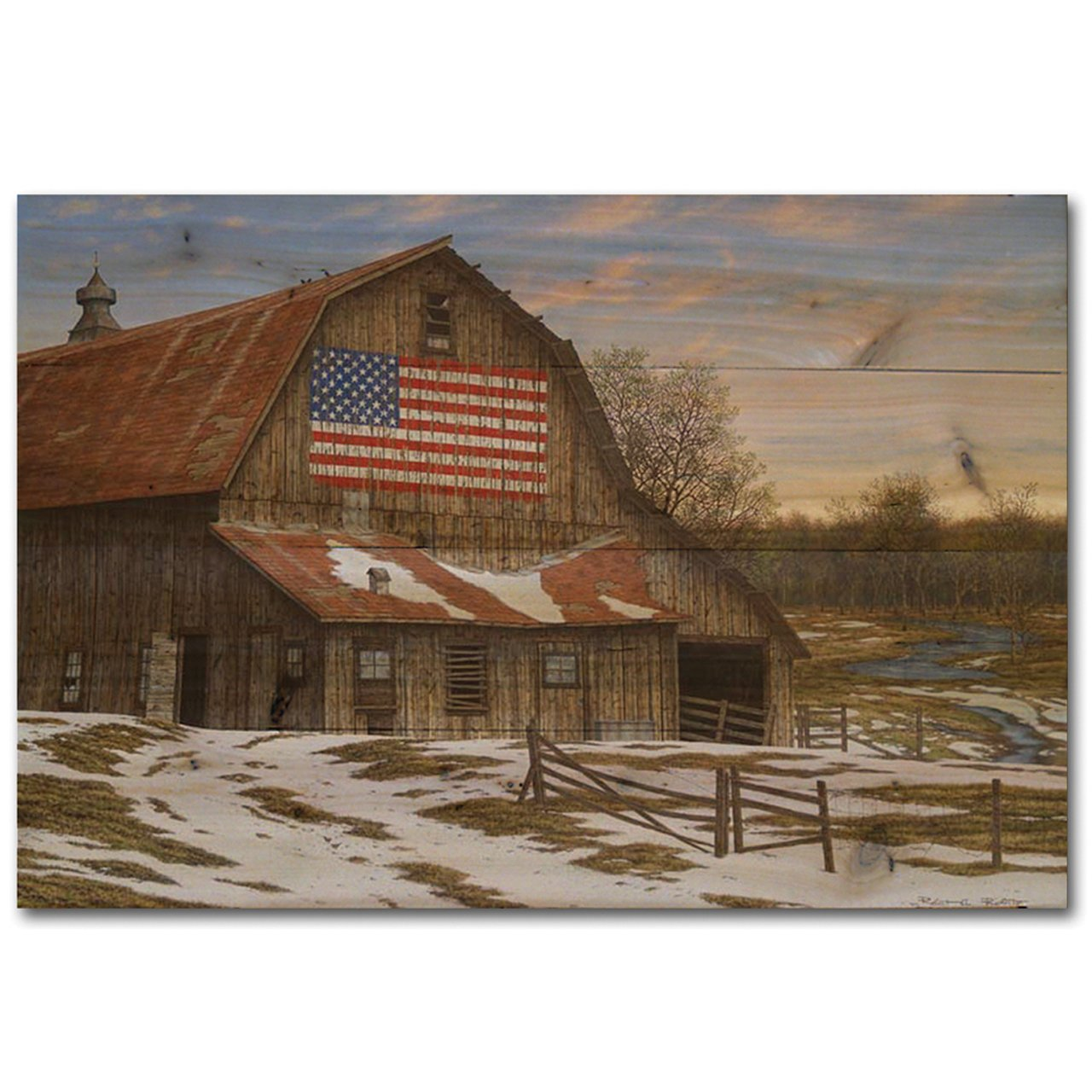 WGI-GALLERY WA-ELB-4030 Enduring Legacy Barn Wall Art